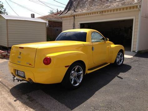 repair anti lock braking 2004 chevrolet ssr engine control find used beautiful yellow 2004 chevy ssr only 22 000 mi in amarillo texas united states