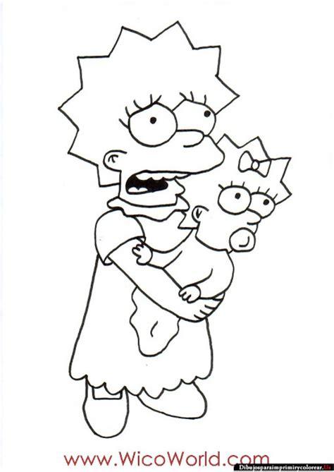 imagenes bart simpson triste buscar con google dibujos de los simpson para imprimir y colorear the