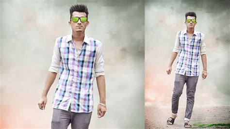 How To Change Hairstyle In Photoshop Cc 2017 by How To Change Background Photoshop Tutorial