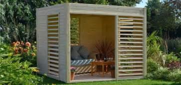 nivrem abri jardin bois avec terrasse diverses