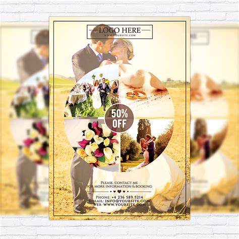 Wedding Flyer by Wedding Photography Premium Flyer Template