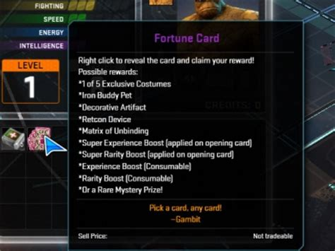 marvel heroes fortune card orcz the wiki