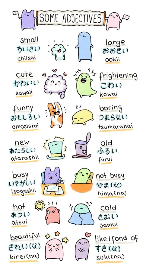 doodle verb meaning illustration japan japanese kawaii study pastel