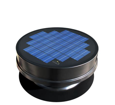 high efficiency attic fan solaro aire made solar powered attic fan