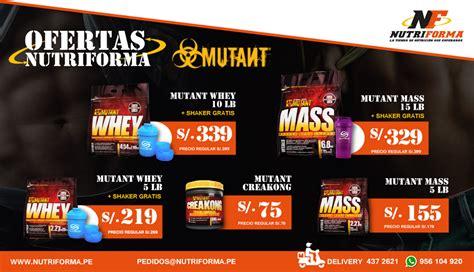 A045 Mutant Mass 15 Lb mutant mass 5 y 15 lb nutriforma pe per 250