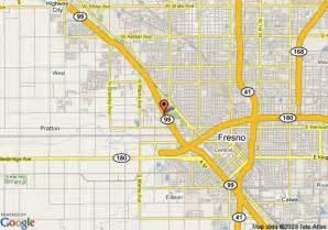 hwy 99 california map map of 8 motel fresno hwy 99 fresno