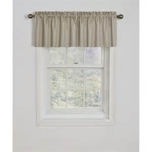 bathroom window curtains walmart eclipse samara blackout energy efficient valance walmart
