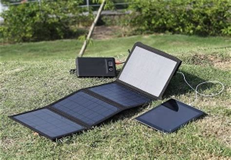 levin solar chargers for portable power outdoors