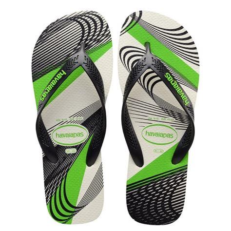 havaianas comfortable havaianas aero graphic white black lighter sole for