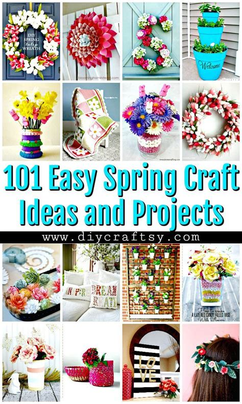 101 easy diy spring craft ideas and projects diy crafts