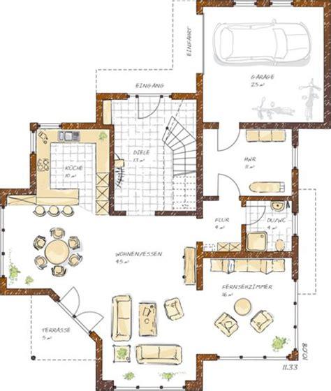 Haus 140 Qm Grundriss by Einfamilienhaus Grundrisse 150 200 Qm