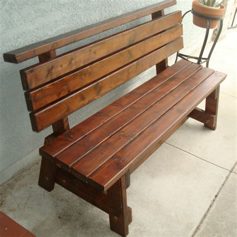 Wood Plans Bench