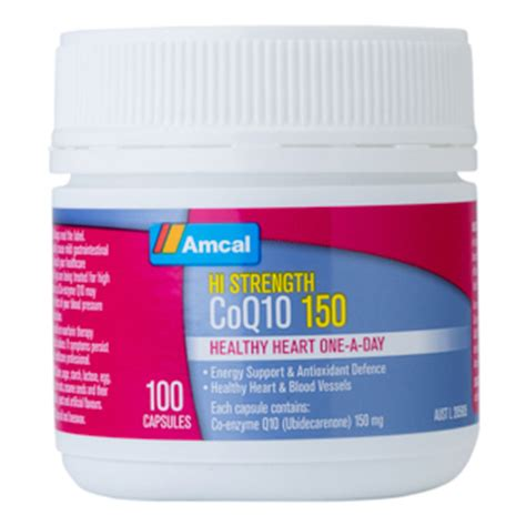 Diskon Healthy Care Coenzyme Q10 150mg 100 Caps amcal hi strength co enzyme q10 150mg 100 caps amcal