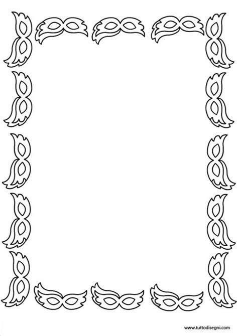 cornici bianco e nero cornicetta di carnevale in bianco e nero bordas e fundos
