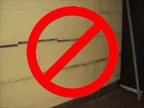 repairing basement wall cracks foundation repair cost of repairing basement wall cracks