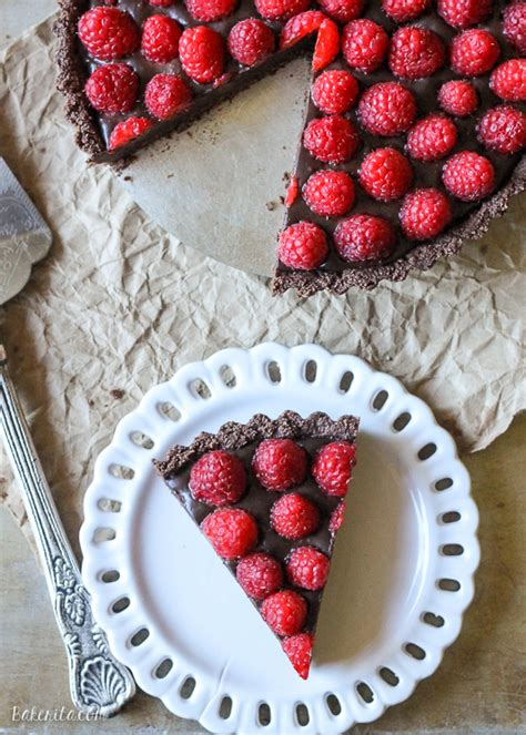 13 Ingredients And Directions Of Raspberry Chocolate Tart Receipt by 13 No Bake Desserts So You Can Skip The Oven