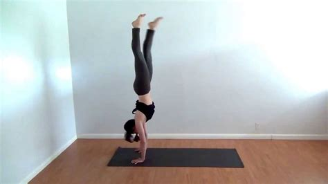 yoga tutorial youtube home yoga practice handstand tutorial youtube