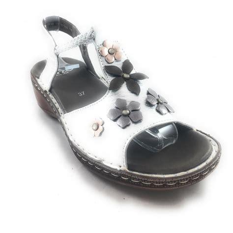 key west sandals ara 12 37256 key west silver leather open toe sandal ara