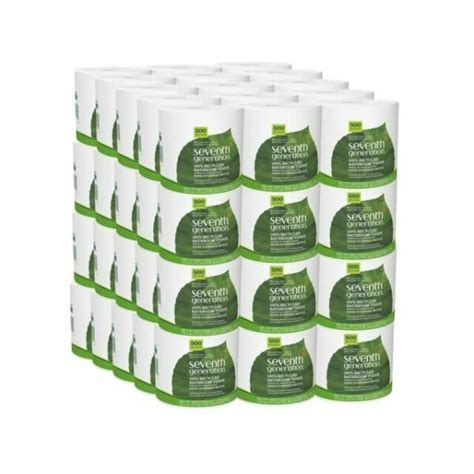 seventh generation  sheet  ply recycled white toilet paper  pieces  sale  ebay