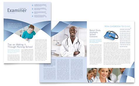 healthcare newsletter templates health care newsletters templates designs