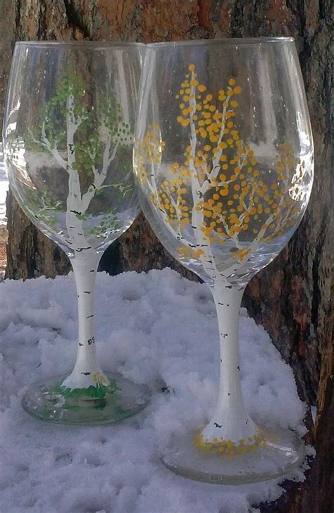 How To Decorate A Wine Glass by Best 25 Decorated Wine Glasses Ideas On