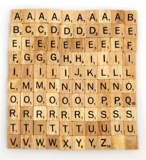 scrabble tiles wooden scrabble tiles custom letters set for jewelry