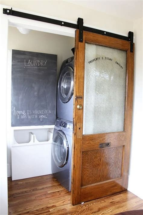 Door La by Sliding Door Flat Track For The Laundry Room