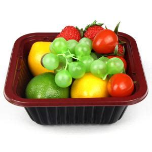 Pet Tray Salad 750ml disposable lunch boxes plastic cup fruit vegetable