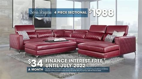 sofia vergara sectional sofa rooms to go tv commercial buy sofia vergara