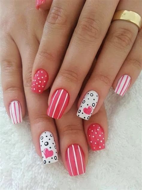 pictures of nail designs for valentines day 60 s day nail designs for 2015