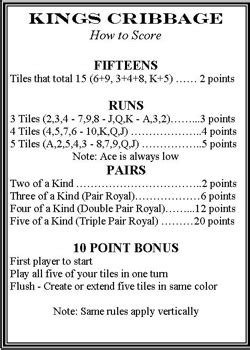 printable instructions on how to play cribbage crib score card baby crib design inspiration