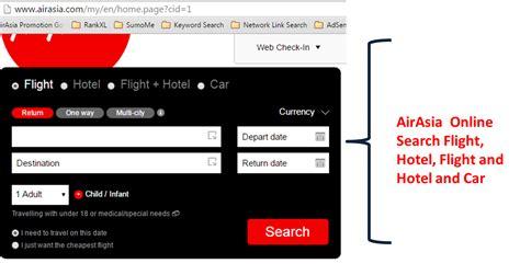 airasia flight booking 5 crucial steps airasia booking