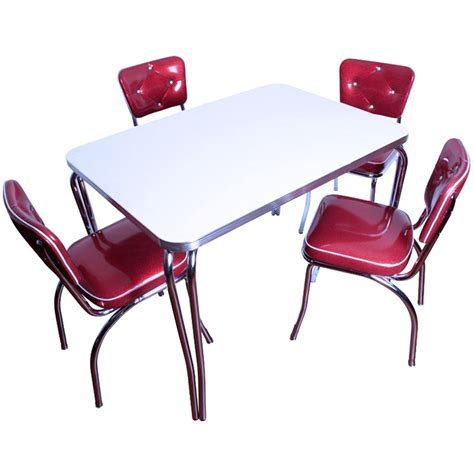 1950s table and chairs 1950 s table and chair set top selling and made in usa