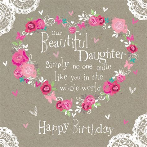 printable happy birthday daughter cards card invitation design ideas colored style birthday card