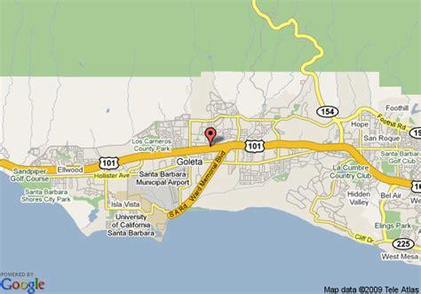 map of goleta california inn santa barbara goleta goleta deals see hotel
