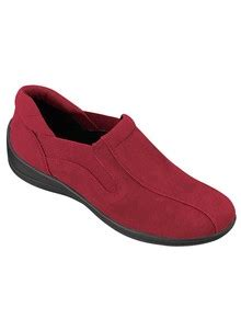 comfort well shoes comfort well microsuede slip ons carolwrightgifts com