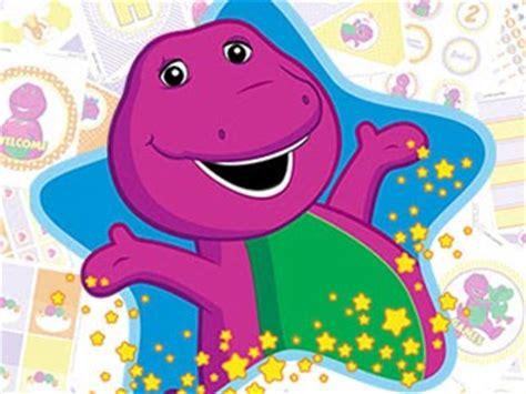 Printable Barney Birthday Cards