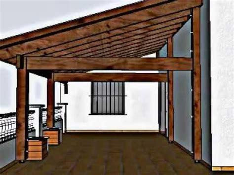 como hacer un porche de madera dise 241 o de porche de madera en una terraza en llli 231 a de