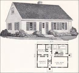 small cape cod house plans 1961 weyerhauser home plans design no 4130 cape cod