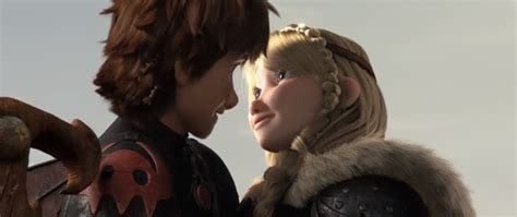 image astrid and hiccup right after finishing their