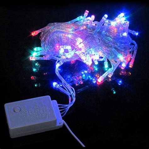 Wholesale String Light 100 Led 10m Christmas Wedding Party String Lights Wholesale