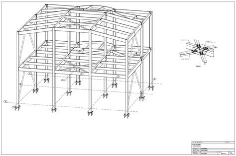 plan drawings exle 3d isometric drawing tekla user assistance
