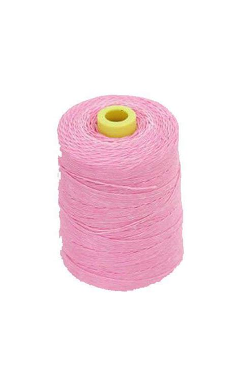 colored string pink colored waxed string offbeat boutique