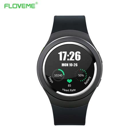 Floveme Bluetooth Smartwatch floveme smart sim card wifi bluetooth smartwatch on wrist for android ios pedometer remote