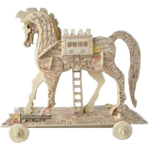 home paard van troje bouwpakket paard van troje