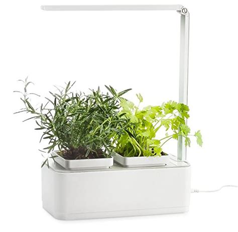self watering indoor planter with grow light how to grow awesome vegetables complete hydroponic system