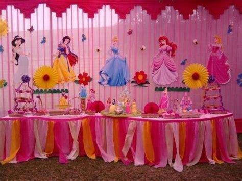 decoracion casera para fiestas decoracion fiestas infantiles princesas decoracion