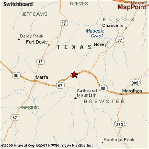 alpine texas map alpine texas
