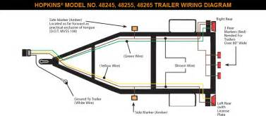 wiring diagram for a 7 way trailer plug collections