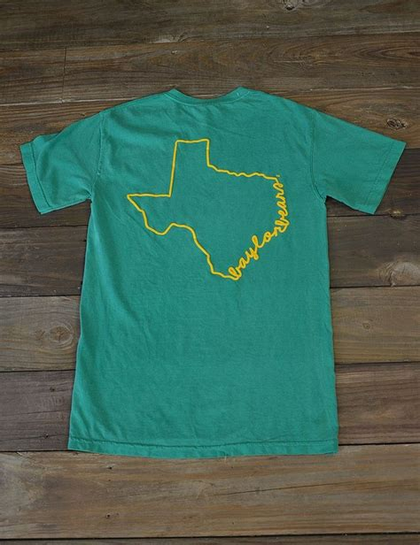 design a shirt comfort colors stand out in the crowd in this new baylor university state